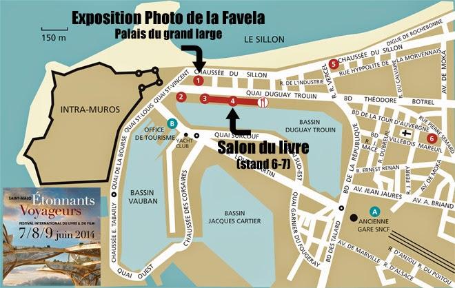 Etonnants Voyageurs Saint-Malo 2014 : les lieux du festival