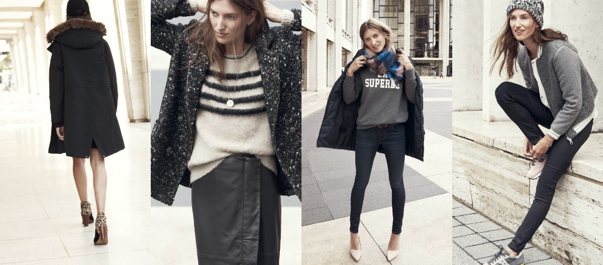 Sezane for Madewell Capsule Collection Look 1