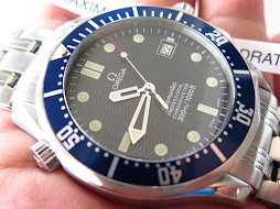 OMEGA SEAMASTER PROFESSIONAL CHRONOMETER 300 METER BLUE WAVE DIAL-OMEGA DIVER JAMES BOND 007-AUTO