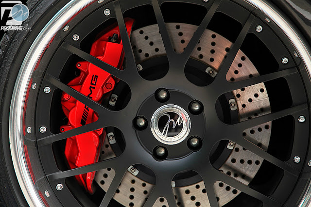 Perforated brake discs