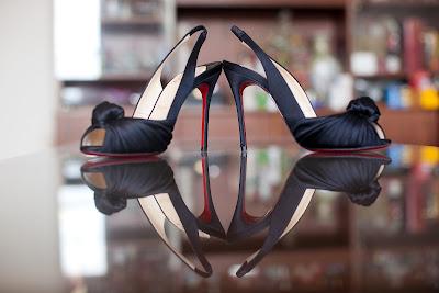 Wedding shoes, Louboutin, Jenny