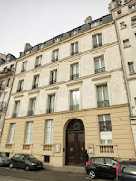 Façade du 6 quai d'Orléans à Paris où le balcon a disparu