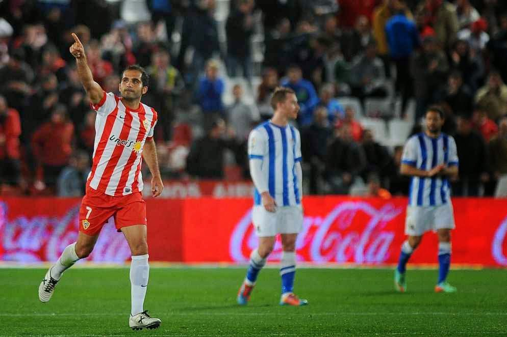 La victoria del Almería a la Real no tuvo acertantes