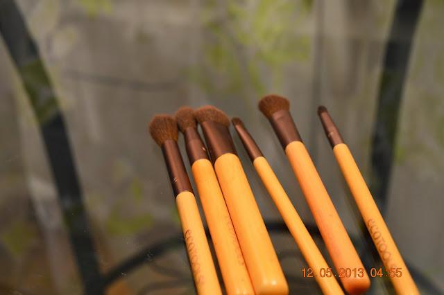 Make up, Make up brushes, Ecotools