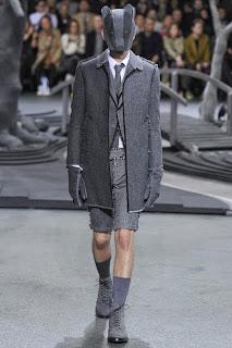 Thom Browne, Paris Fashion Week, menswear, Fall Winter, otoño invierno, 2014,