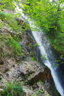 Villayón, cascada de Méxica