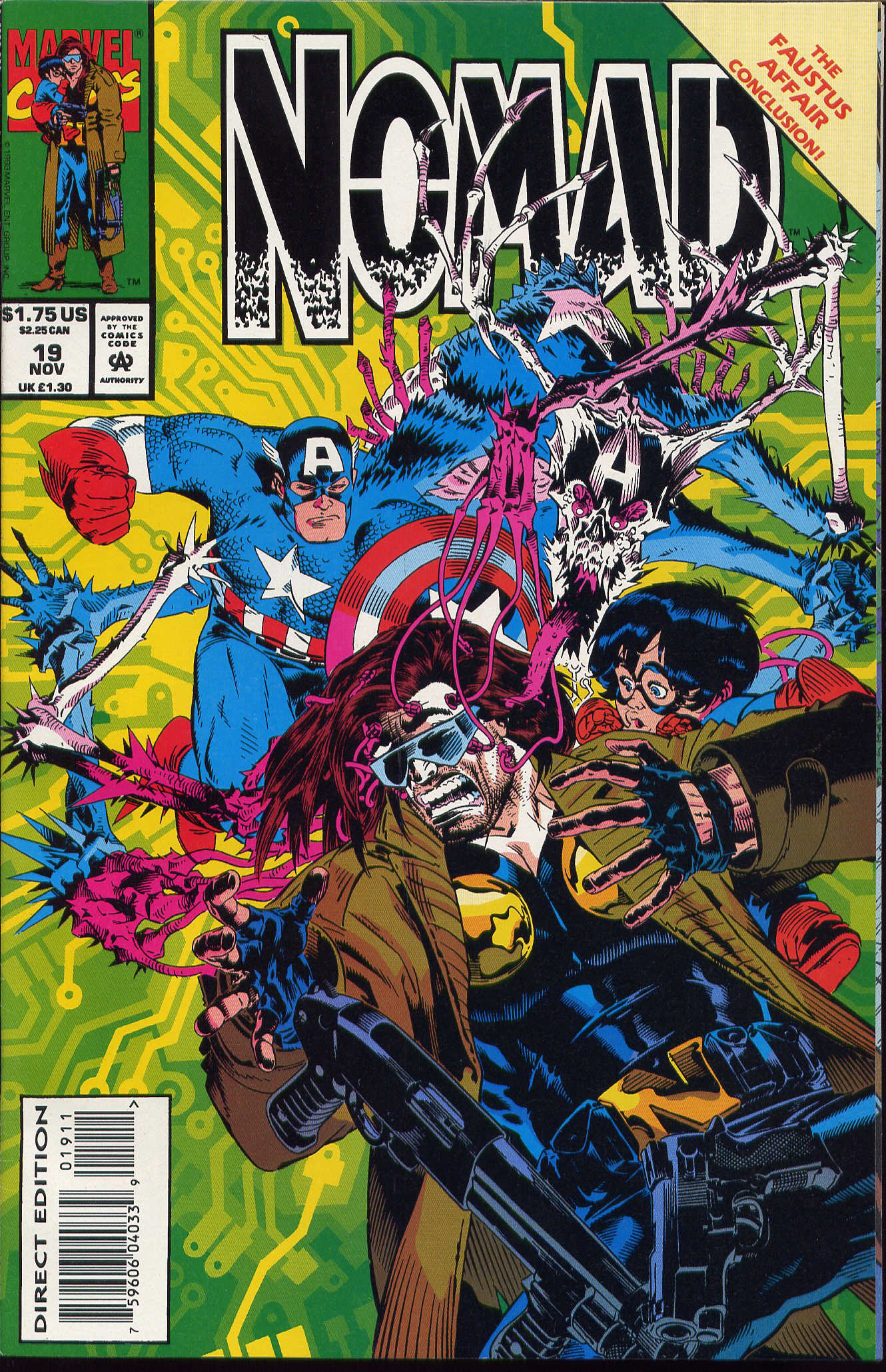Captain America (1968) Issue #420b #370 - English 1