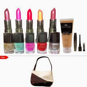 Buy Pretty Lady Make-up Collection at Rs.1099 : Buy TO Earn Homeshop18