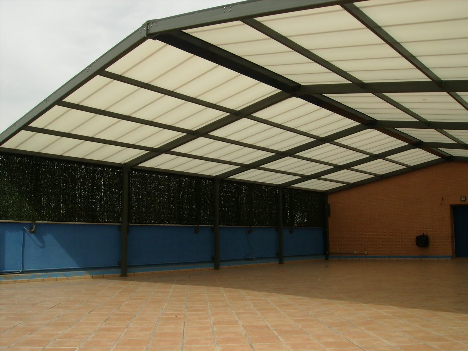 Tejados para garajes techados para polideportivos for Nombres de garajes