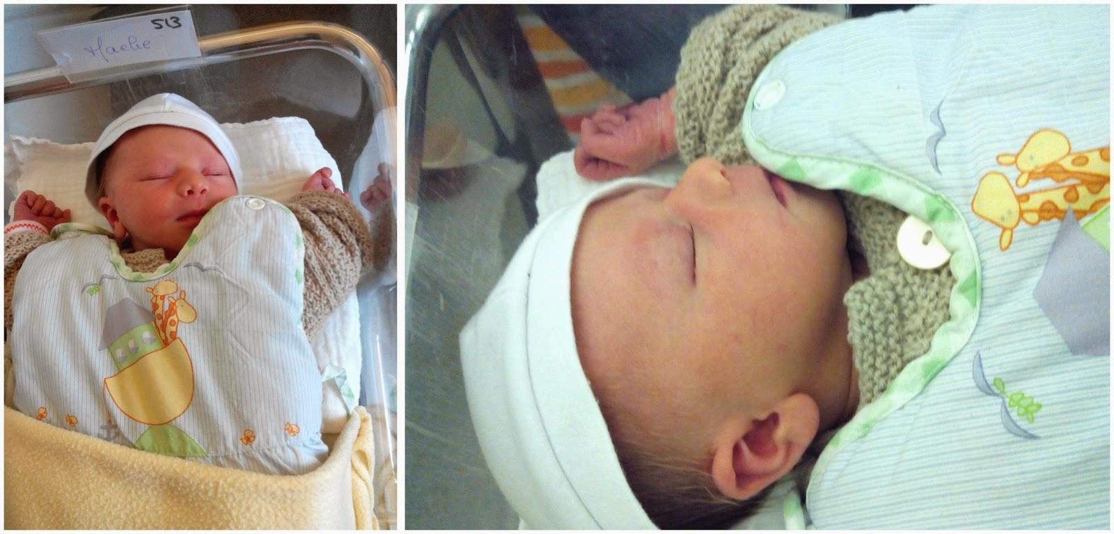 bébé, niece, tante, famille, naissance, bullelodie