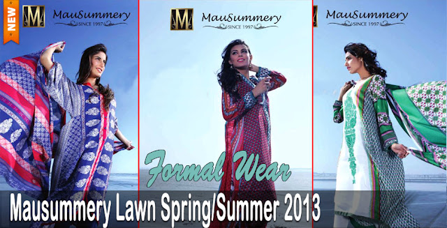 Mausummery Lawn Spring-Summer Collection 2013