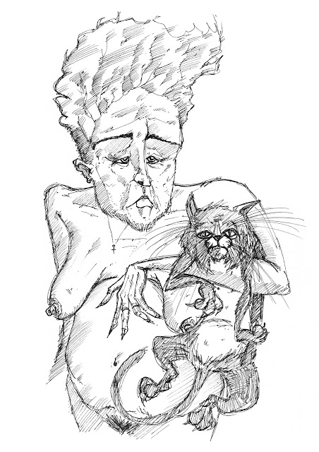 'Margaret and Her Ugly Pussy'  by TONE.