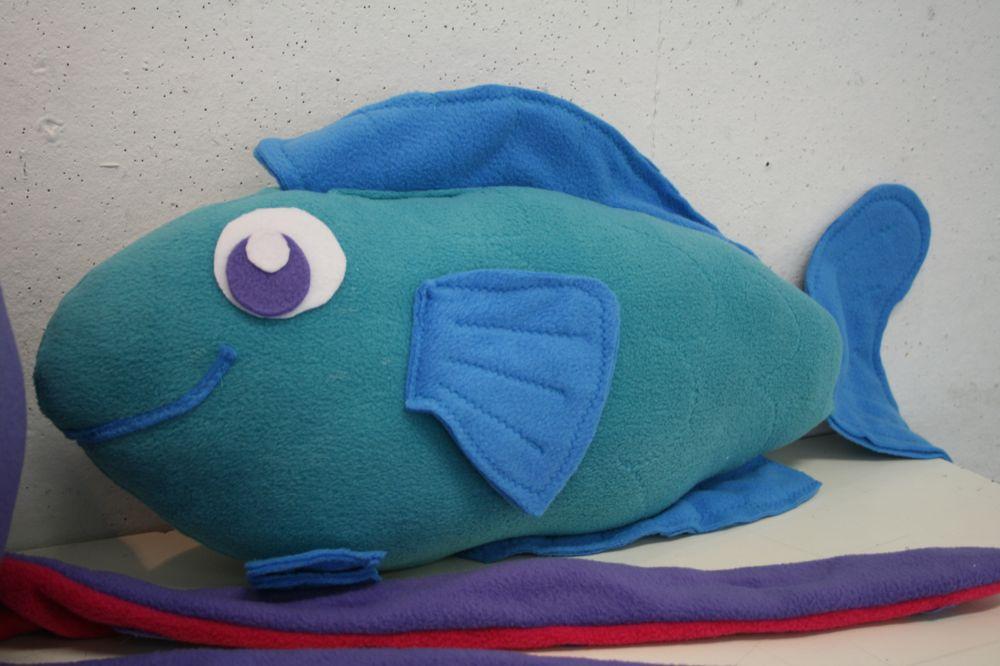 Claire lordon design sea creatures stuffed animals for Fish stuffed animals