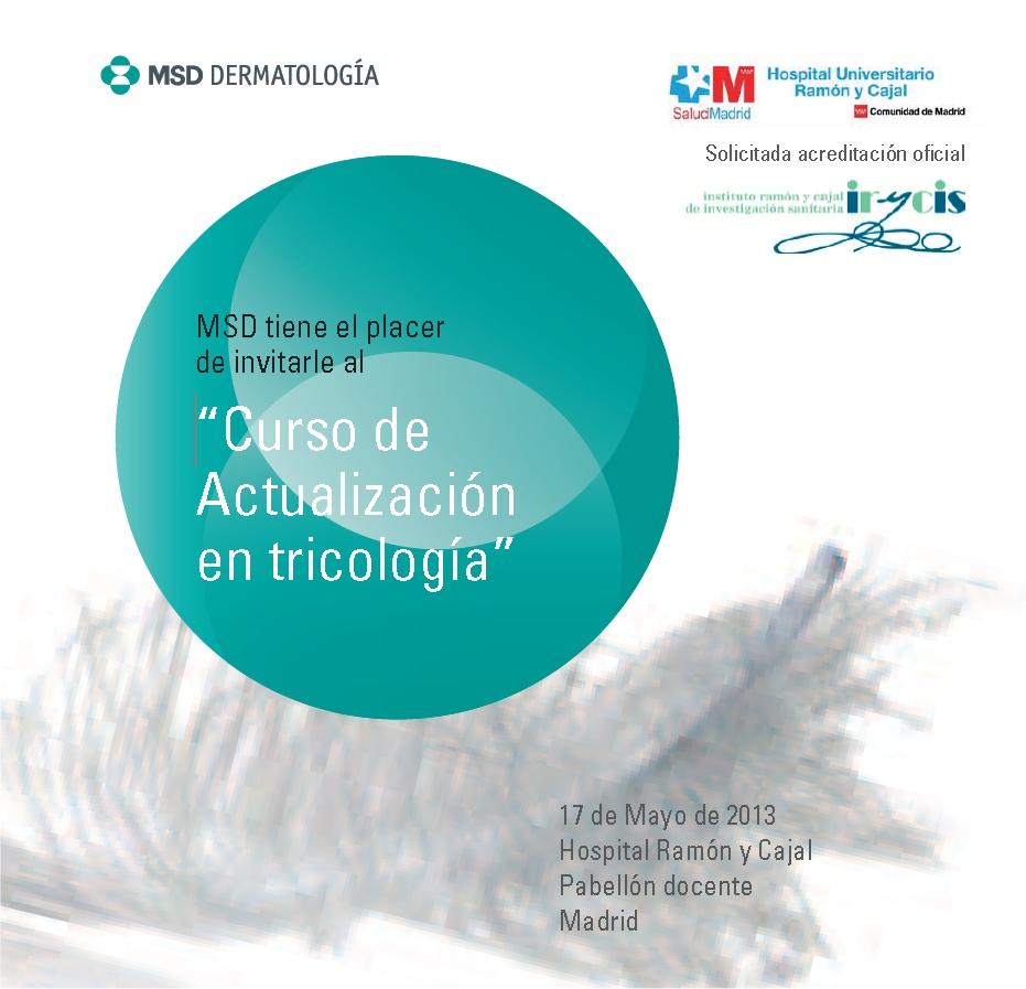 Dermatolog a madrid curso de actualizaci n en tricolog a for Curso de escaparatismo madrid