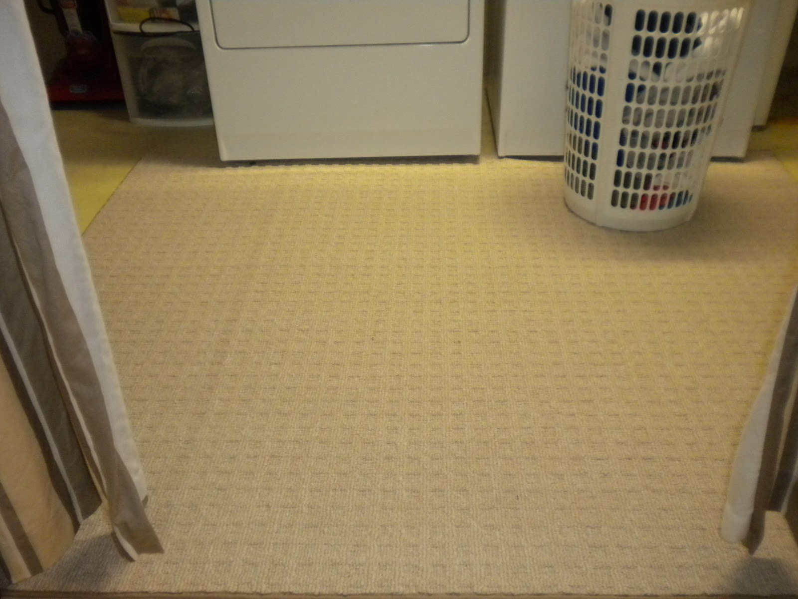 the whites a cozy laundry room
