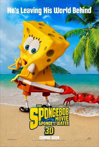 Film SpongeBob: Sponge Out of Water 2015