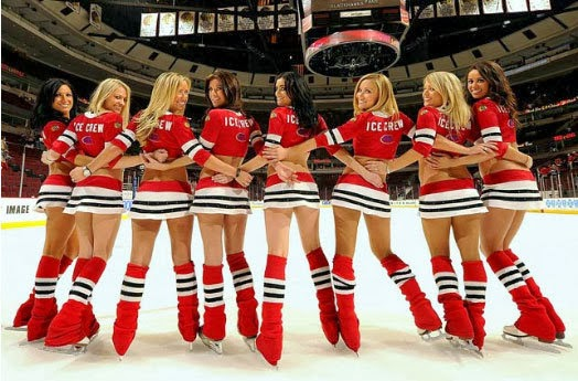 Pro Cheerleader Heaven 2013 2014 Nhl Ice Girls Power Rankings