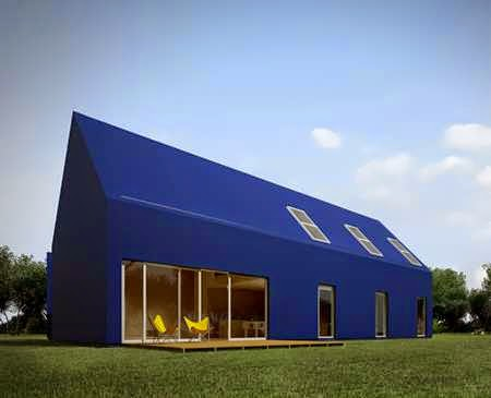 Unconventional house design takes a modern approach to for Minimalist house materials