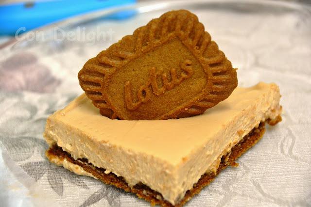 עוגת גבינה ולוטוס -  lotus cheesecake