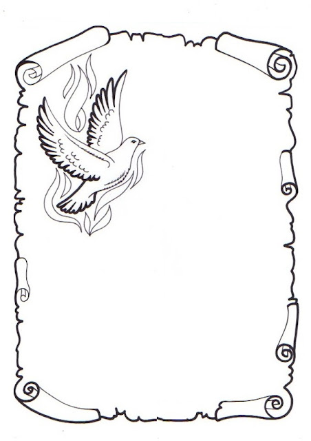 Caratula de pergamino dibujado - Imagui