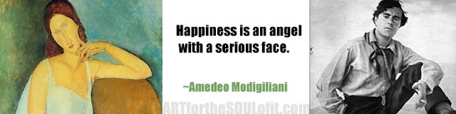 amedeo modigliani quote happiness is an angel...