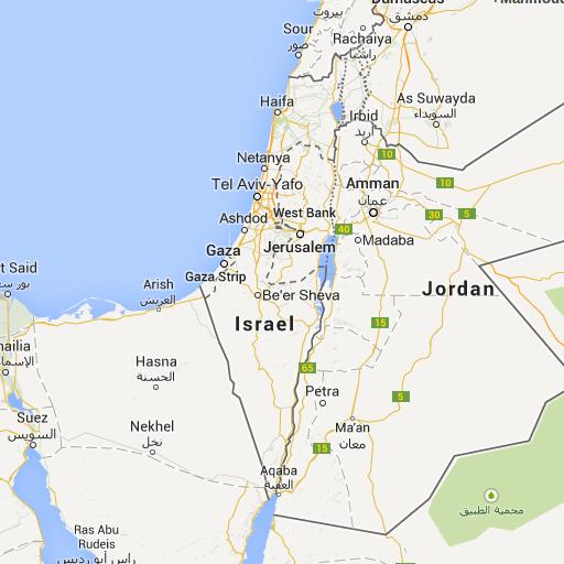 Just 3adly: PalMap - Get Palestine Back on Google Maps