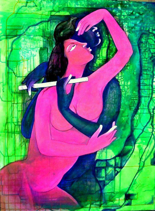 Poonam Chandrika Tyagi 1964 | Indian Symbolist painter