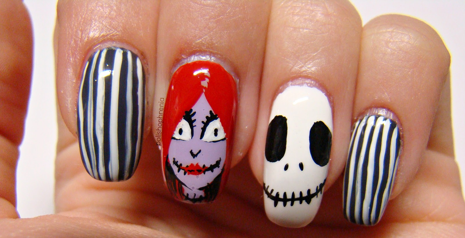 Nightmare Before Christmas Nail Decals - intellego