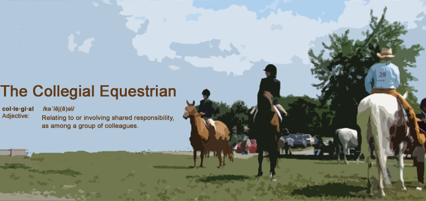 The Collegial Equestrian