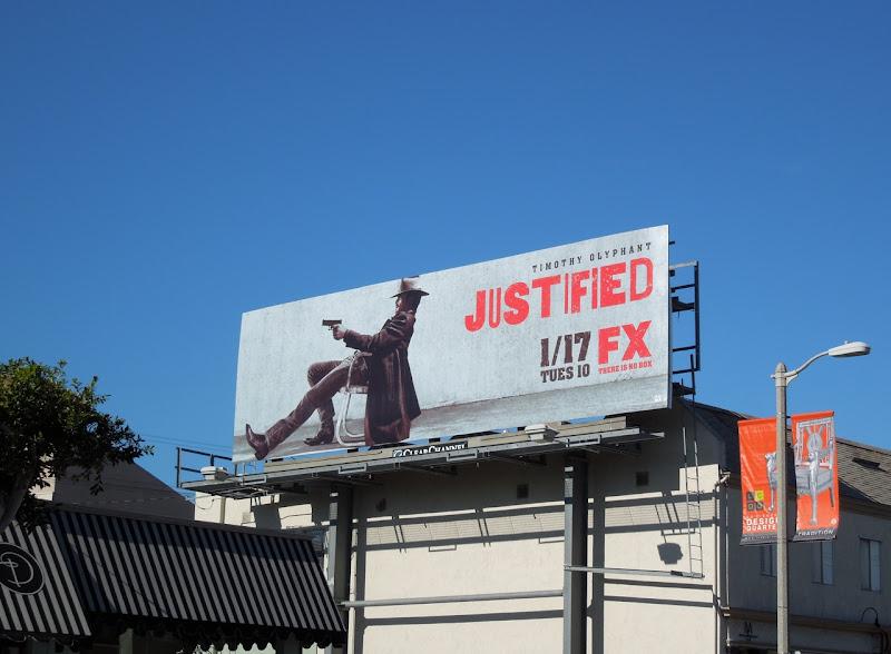 Justified season 3 FX billboard
