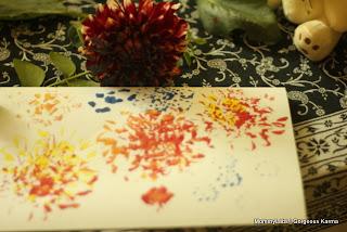 handmade Holi Cards