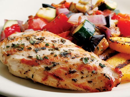 Grilled Chicken Ratatouille Recipe