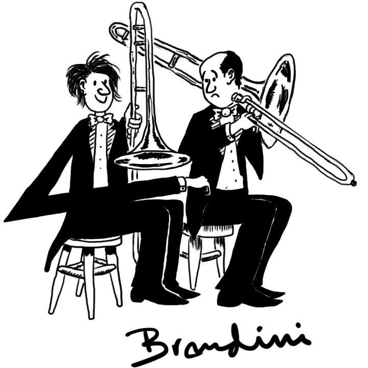 Cartoon Trombone Brendini Cartoo...
