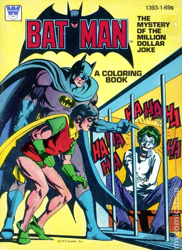 At My Career And Discovered That Ive Written More Batman Tales Than I Ever Realized Many It Started With Of All Things A Coloring Book