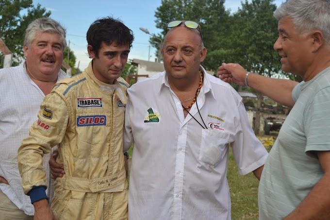 Martín Calamante correrá en TC2000 del Atlántico.