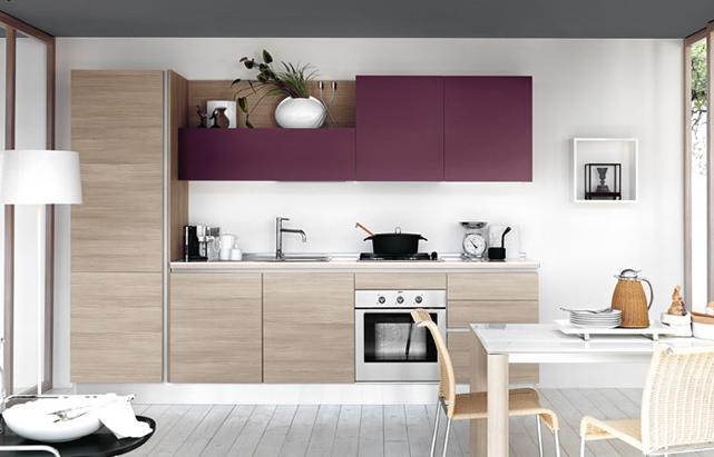 Cocinas lineales nada presuntuosas cocinas con estilo for Planos de cocina lineal