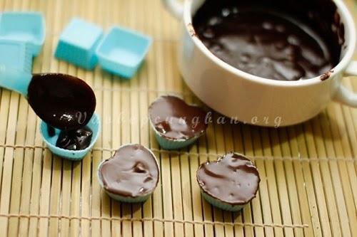 Cách làm Chocolate đơn giản cho Valetine
