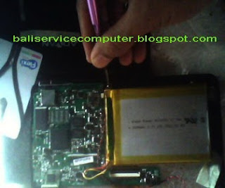 service lcd touchscreen tablet rusak