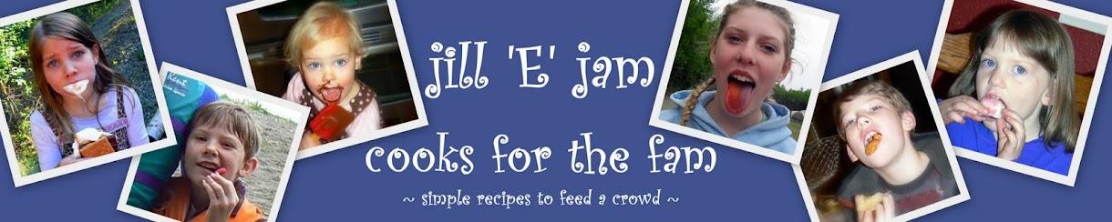 jill E jam cooks 4 the fam