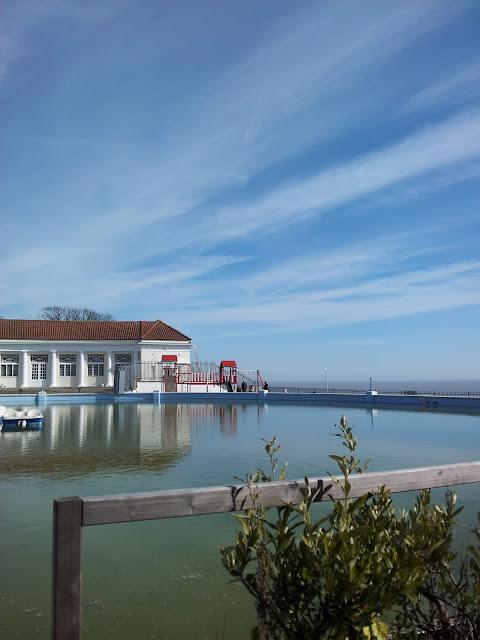 silent sunday, boating pool, ramsgate, kent, beautiful sky, ramsgate boating pool
