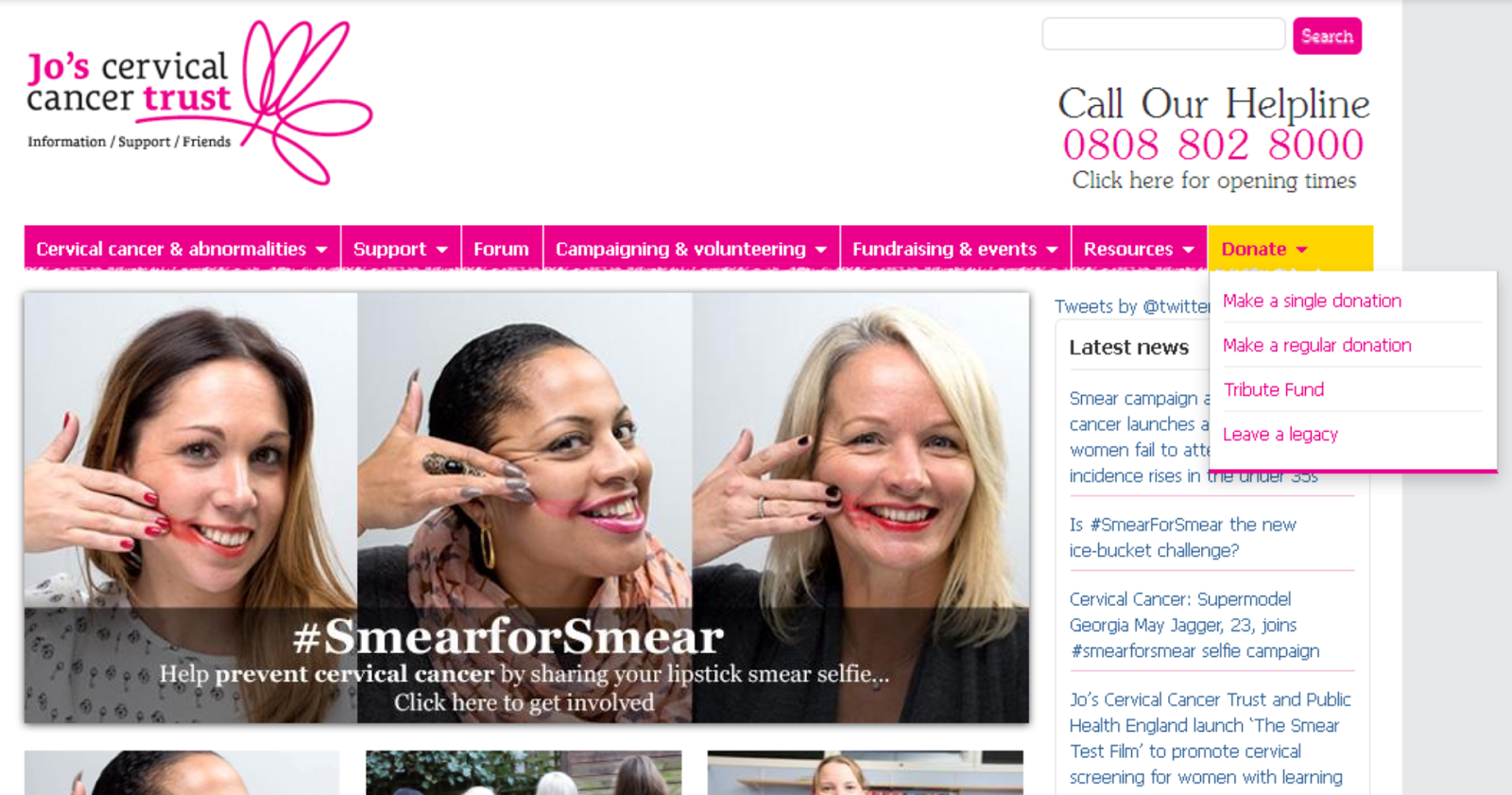 SmearforSmear: A New Campaign Reminds Us Of The Importance Of A Smear Test SmearforSmear: A New Campaign Reminds Us Of The Importance Of A Smear Test new photo