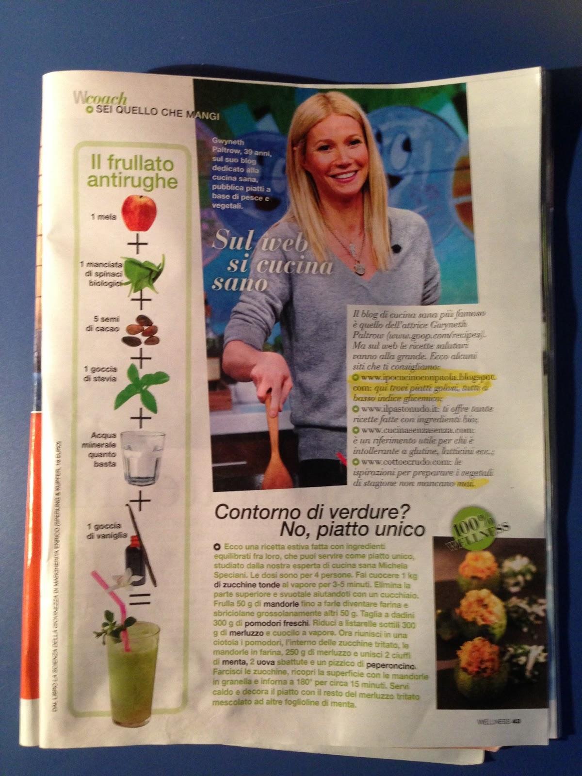 donna moderna wellness si parla del mio blog!!!!