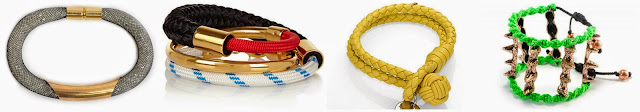 Three of these rope bracelets are from Ines Susaeta ($230), Bottega Veneta ($250) and (Marni ($400) and one is from Barami for $14.40 (with code WEARIT4LESS, regular $18.00). Can you guess which one is the more affordable bracelet? Click the links below to see if you are correct!