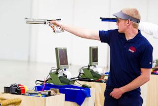 Will Brown (EUA) - Pistola de Ar 10m - Copa do Mundo ISSF de Carabina e Pistola 2013 - Tiro Esportivo