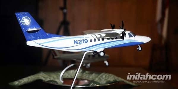Proses Produksi Prototipe Pesawat N219 PT DI Sudah 90%