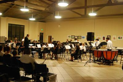 Montgomery Catholic Preparatory School Band and Chorus Fall Concert held October 22 3