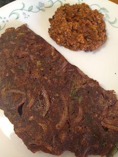 Ragi Rotti,finger millet flour