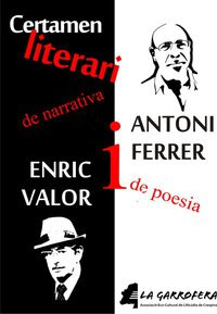 Premis literaris Enric Valor de Narrativa i Antoni Ferrer de Poesia 2011