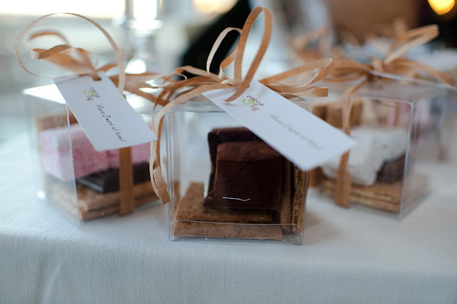 S'mores Take Home Guest Favor