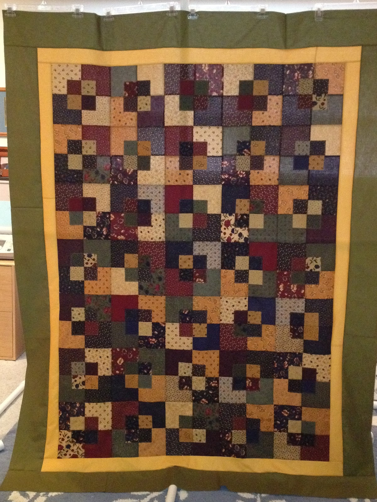 Stitched Stories by The Little Shop Of Stitches: Quilt Equation : five and dime quilt - Adamdwight.com